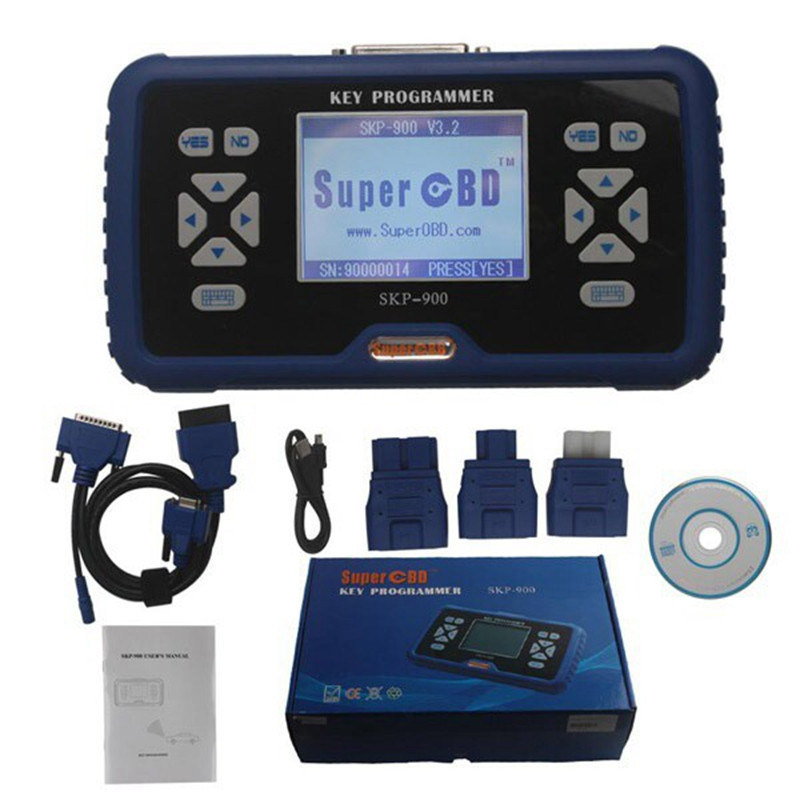 Original Skp900 Auto Key Programmer Support Almost All Cars on Sale