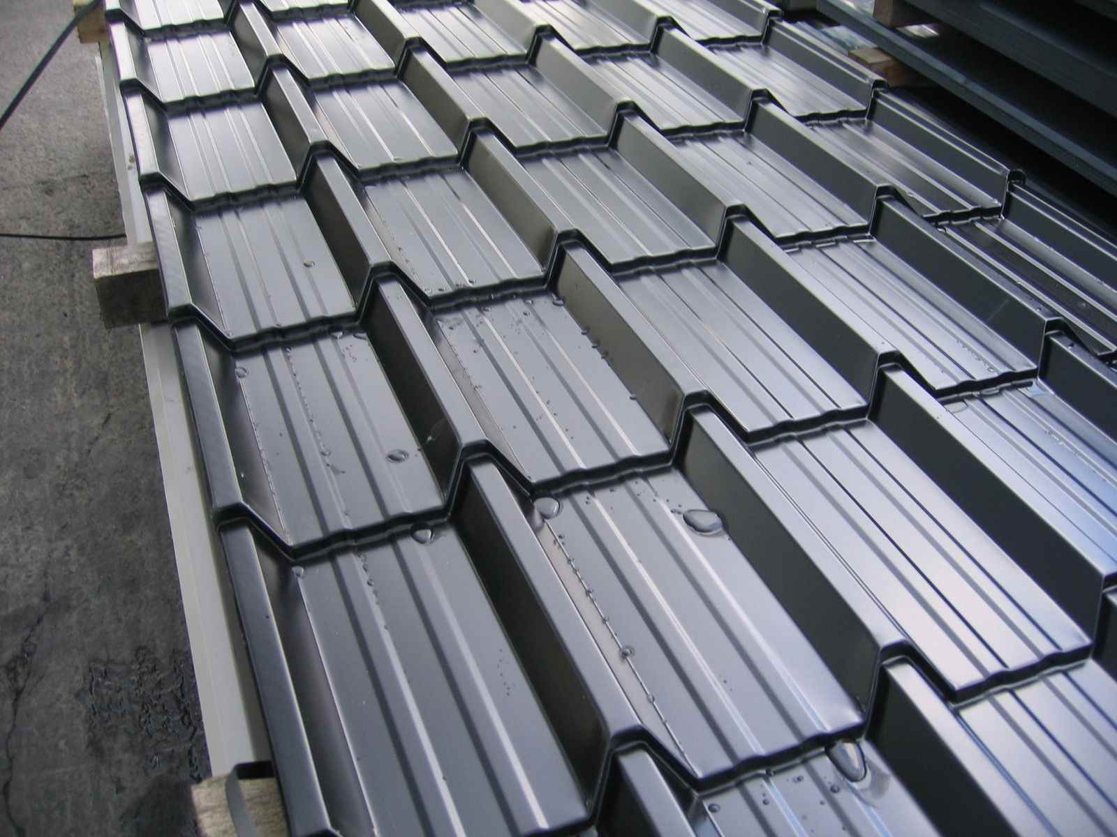 Metal Zinc Roof Sheet Colorbond Galvanized Corrugated Sheets