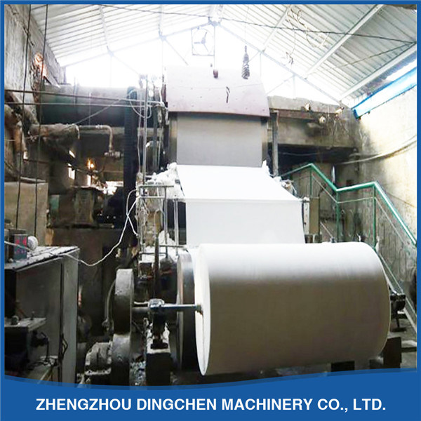 (1092mm) Small Scale Writing Paper Making Machinery with 5t/D