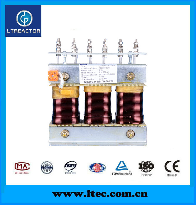 High Quality Low Noise Iron Core AC Reactor (CE approval)