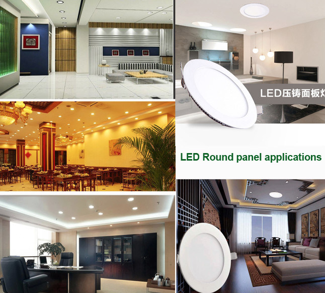 High Brightness 20W Ultra- Slim LED Round Panel Light