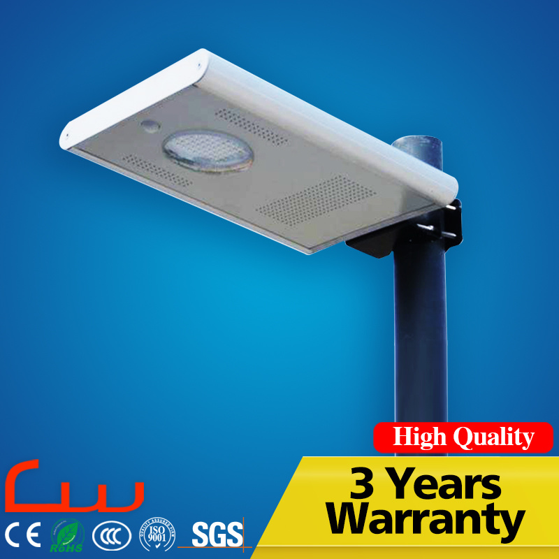 Outdoor 30W 5m Integrated LED Solar Street Light