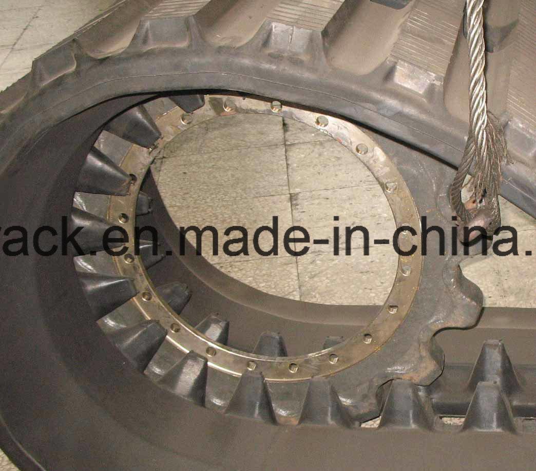 Excavator Tracks Rubber Tracks for Komatsu CD110r) 800*150ym
