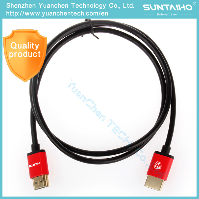 1.4 V 1080P High Speed Gold Plated Plug Male-Male HDMI Cable