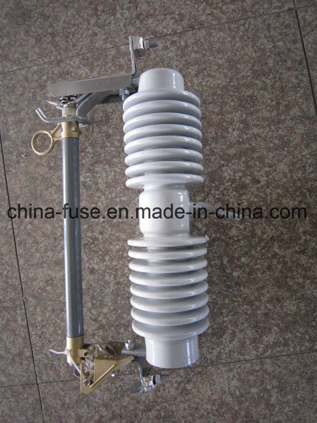 High Voltage Porcelain Fuse Cutout, Drop out Fuse 33kv 100A
