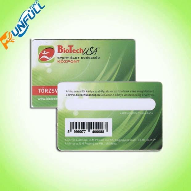 Plastic Barcode Card/Membership Card/Business Card