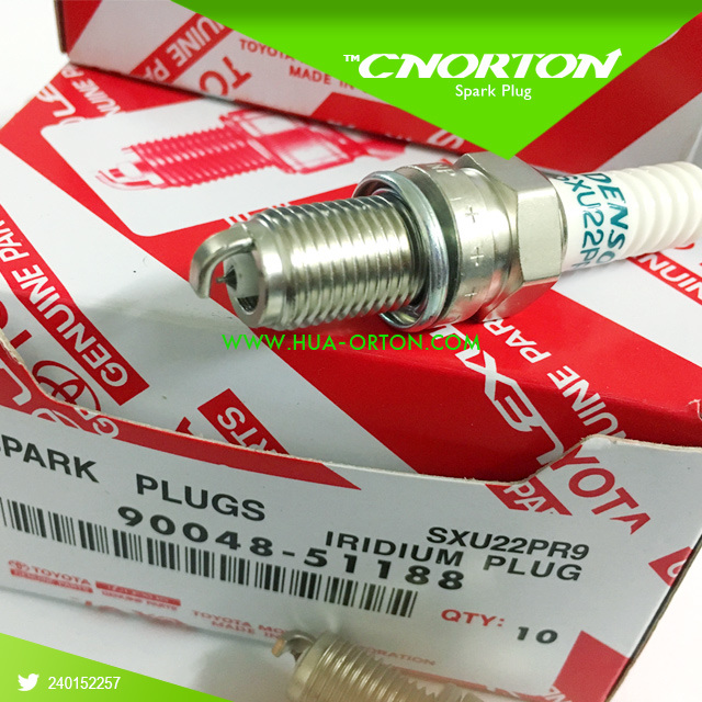 Auto Parts Iridium Spark Plug for Toyota 90048-51188 Sxu22pr9