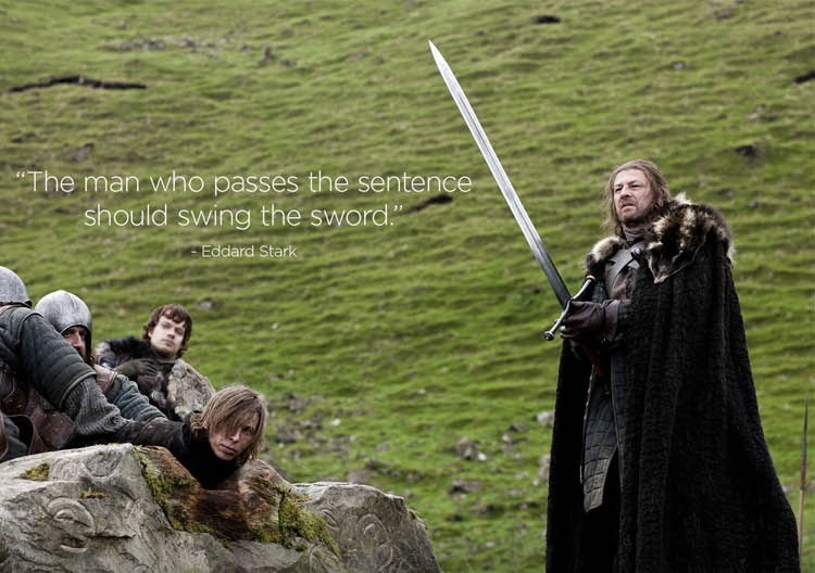 Ned Stark′s Valyrian Greatsword/Game of Thrones Movie Sword