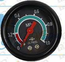 General Oil Pressure Gauge with 52mm
