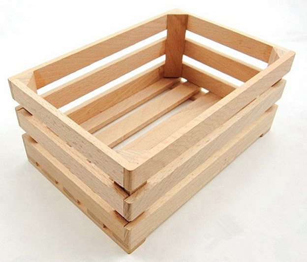 Good Quality Natural Beech Wood Box for Promotion