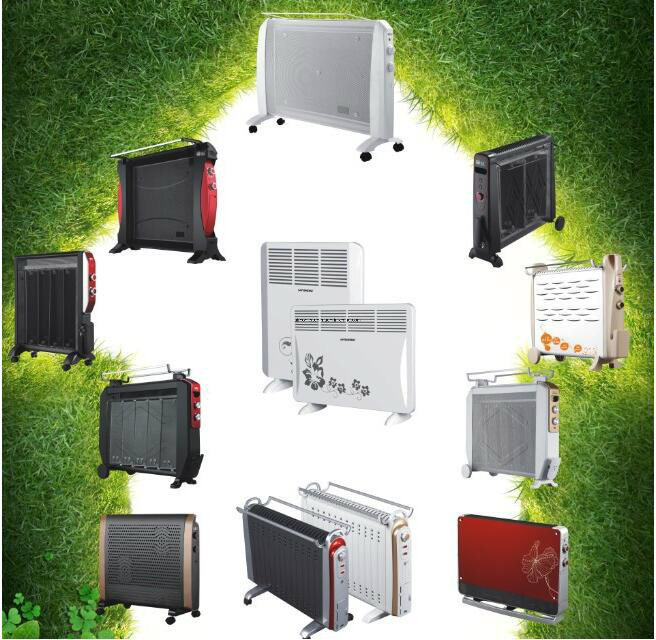 Wall Mounted Convector Heater with Wire Heating Element