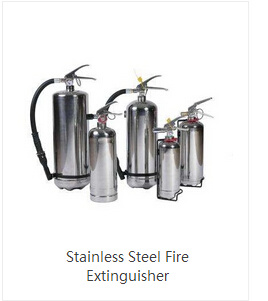 Stainless Steel Fire Extinguisher 9kg