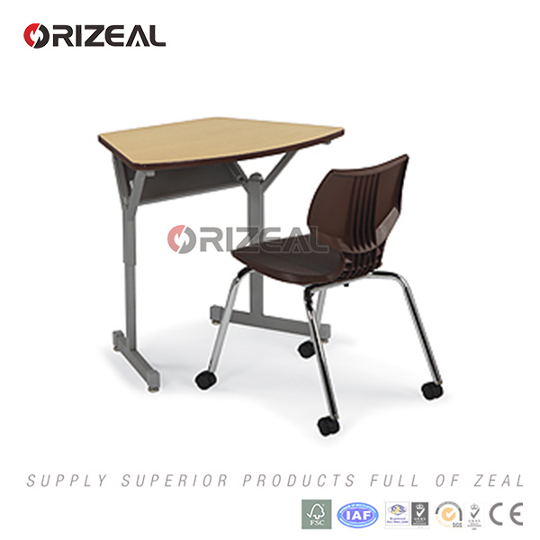 School Furniture of Classroom Student Desk Chosen for Collaborative Learning Classrooms