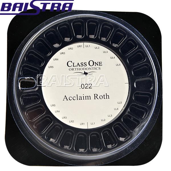 Classone 5*5 Roth Slot 022 Orthodontic Ceramic Bracket