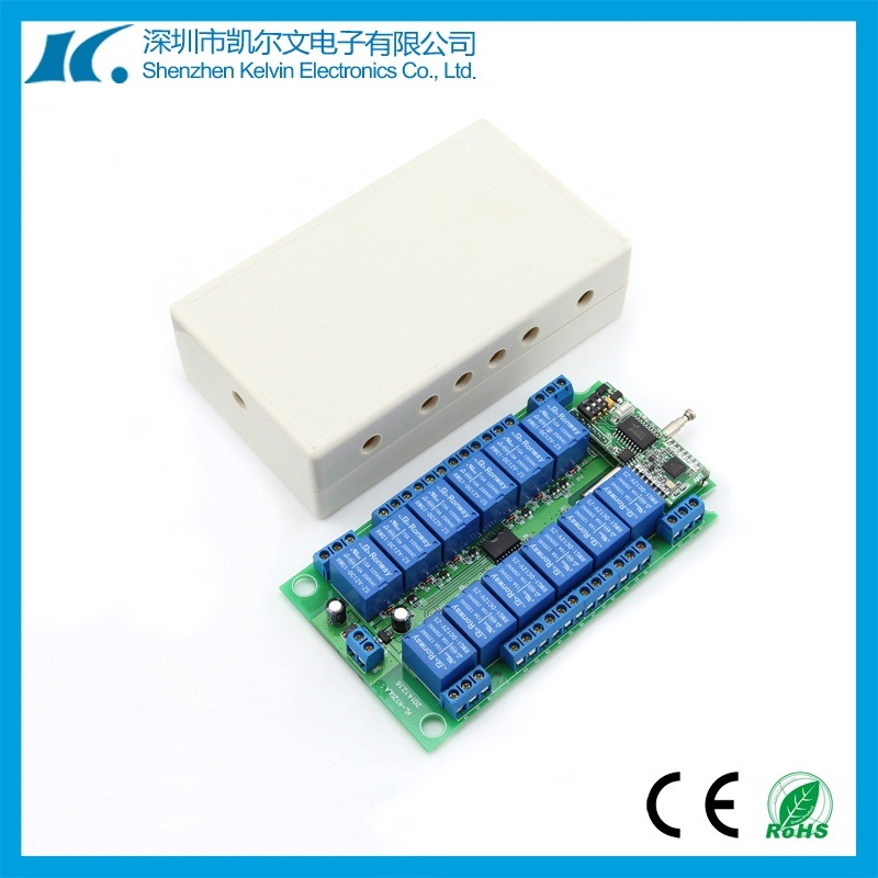 5km 12 Channel RF Receiver Switch Kl-K120la-12CH