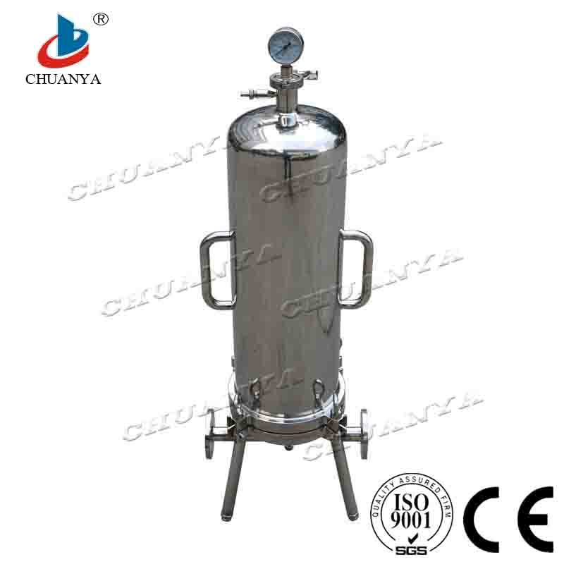 Sanitary Stainless Steel Cartridge Filter Housing