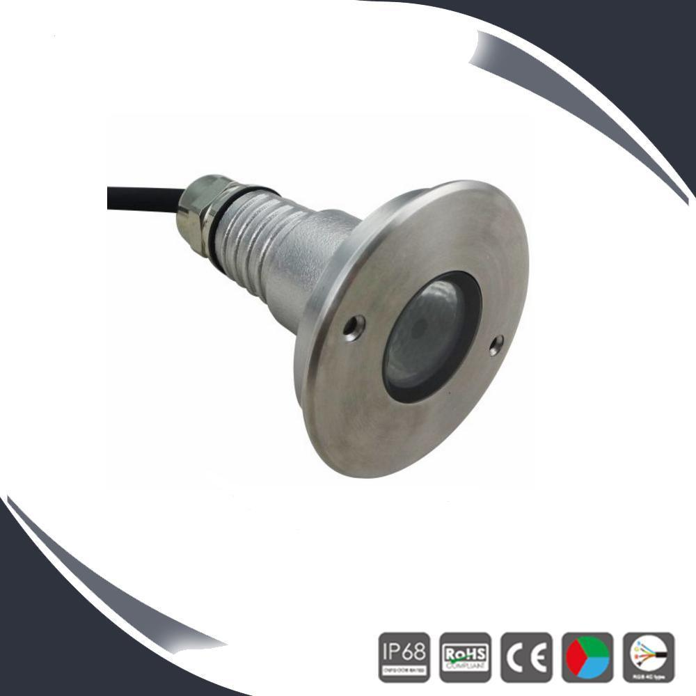 3W High Power Recessed LED Underwater Light, Pool Lamp
