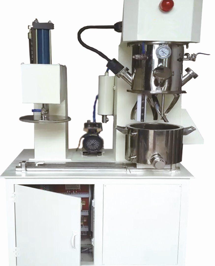 Silikon Adhesive Sealant Mixing Machine Lab Double Planetary Mixer