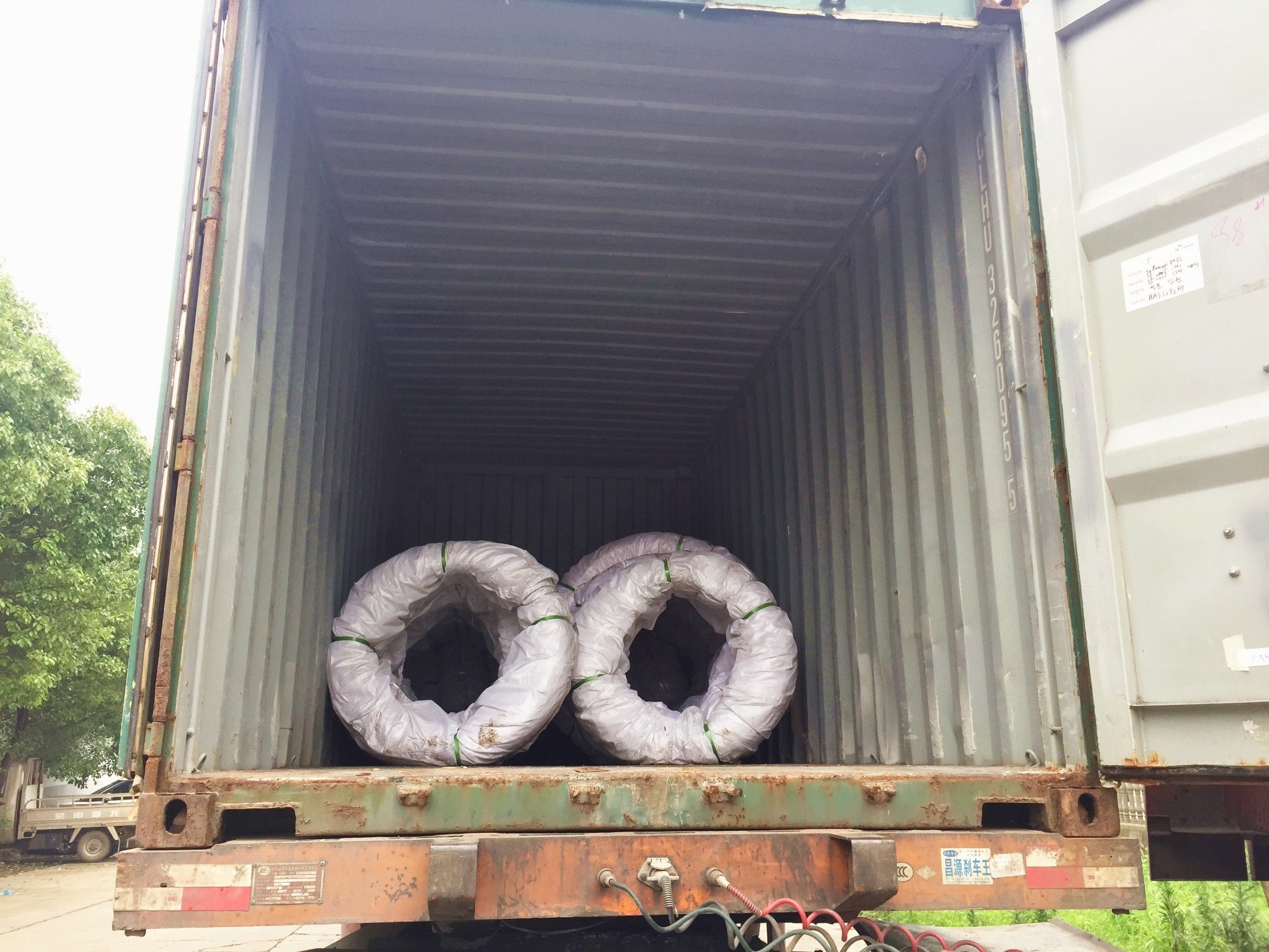 Cola Rolled Steel Wire Swch45k in Coil for High Strength Pieces