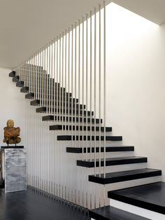 Hiding Stringer Floating Staircase/Wood Floating Staircase /Customized Staircase