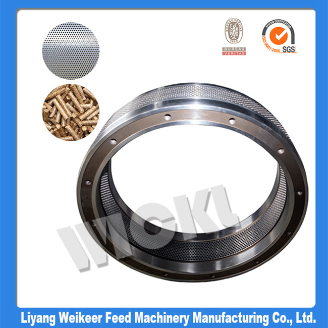 Big Hole Size Pellet Mill Machine Spare Parts Ring Die