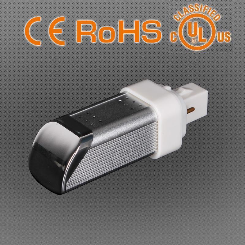 10W E26/E27/G24 LED Plug Light CFL Replacement Lamp, 3 Year Warranty, Ce RoHS UL cUL