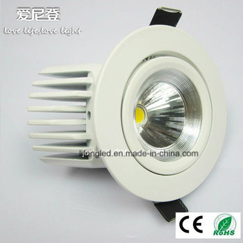 Top Rated 360 Degree Adjustable 7W 8W 9W COB LED Downlight