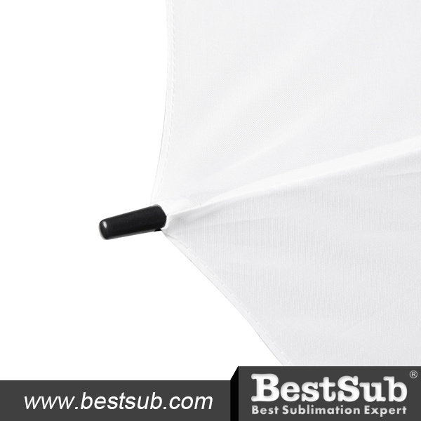 30 in. Golf Umbrella (Self-Opening, White)