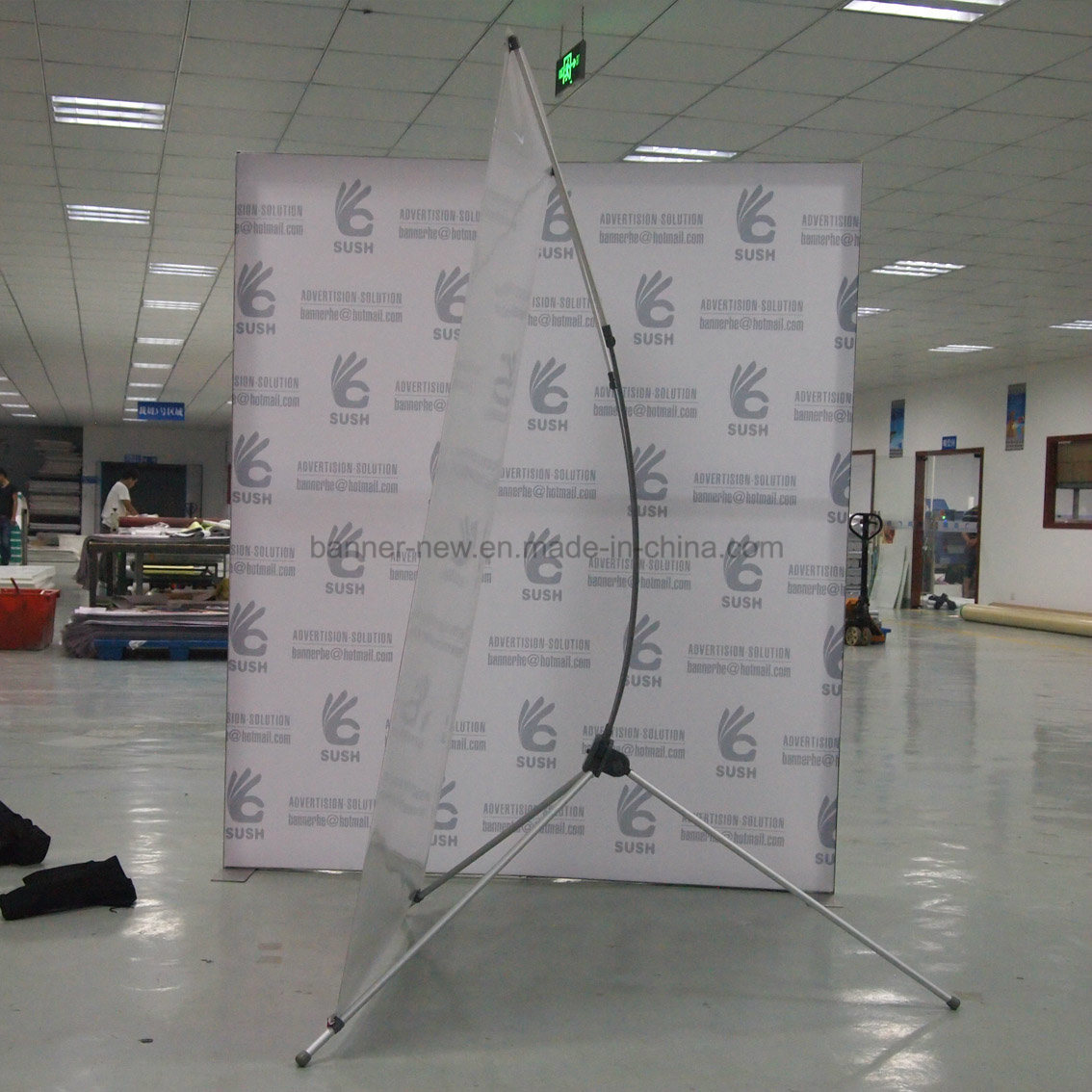 Large Adjustable X Stand, Banner Stand