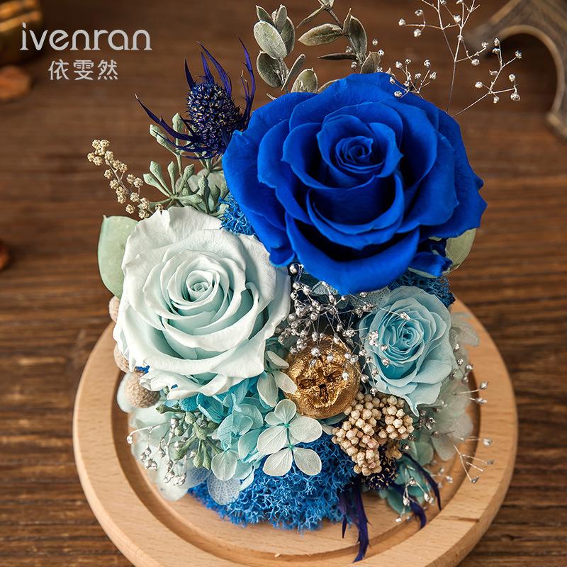100% Real Rose Flower for Valentine Birthday Gift