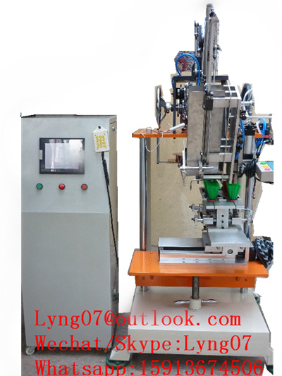 Automatic CNC 2 Axis Broom Tufting Machine