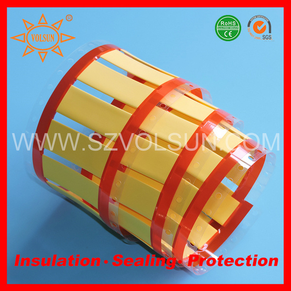 Permanent Printing Heat Shrink Wire Identification Sleeves