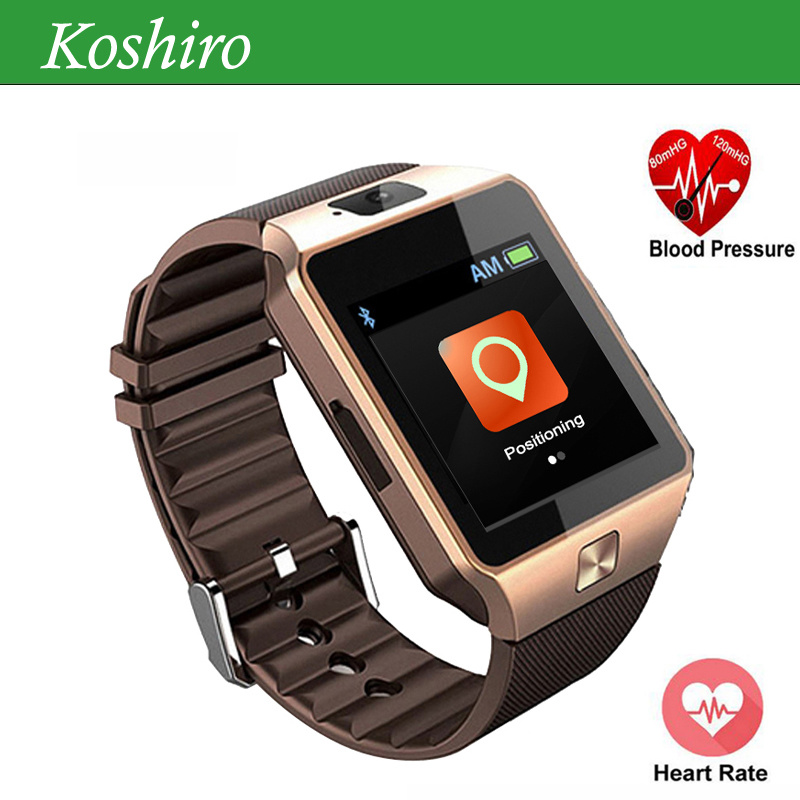 Heart Rate Blood Pressure Blood Oxygen Smart Watch