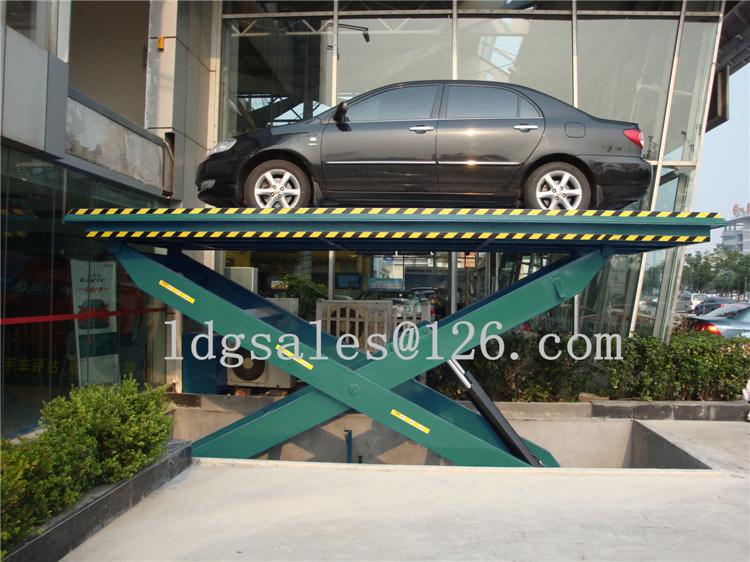 Stationary Hydraulic Scissor Car Lift (SJG2-3.3)