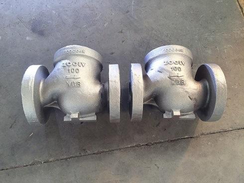 Custom Sand Casting Valve Body in Stainless Steel Casting