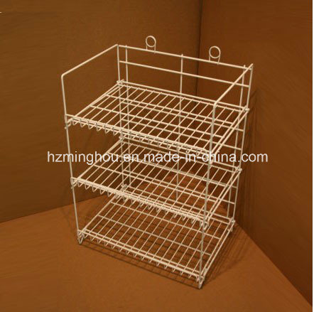 Practical 3 Layer Iron Kitchenware Storage Display Rack