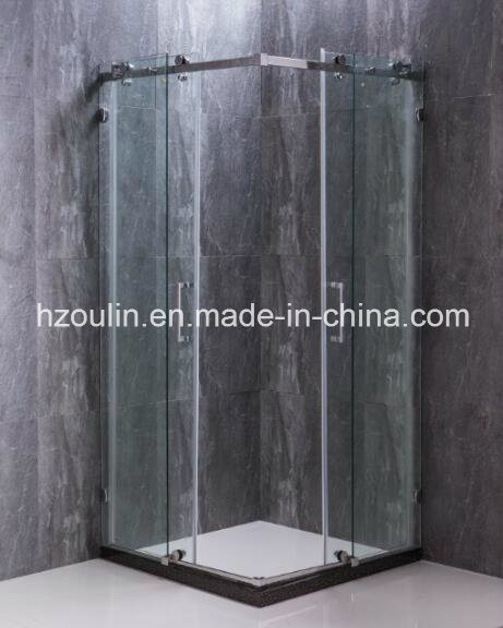 Stainless Steel Shower Enclosure with Big Roller