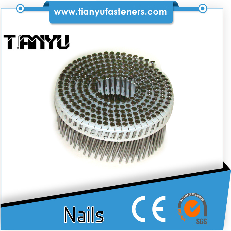 45# Harden Heat Treated Plastic Collated Coil Nails
