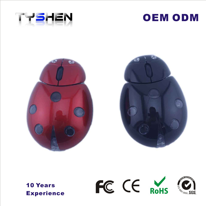 Personalized Cartoon 2.4G Wireless Mouse Funny Computer Mouse