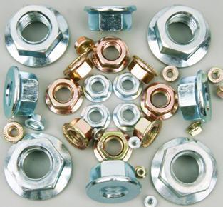 DIN6923 Hexagon Flange Nut Carbon Steel