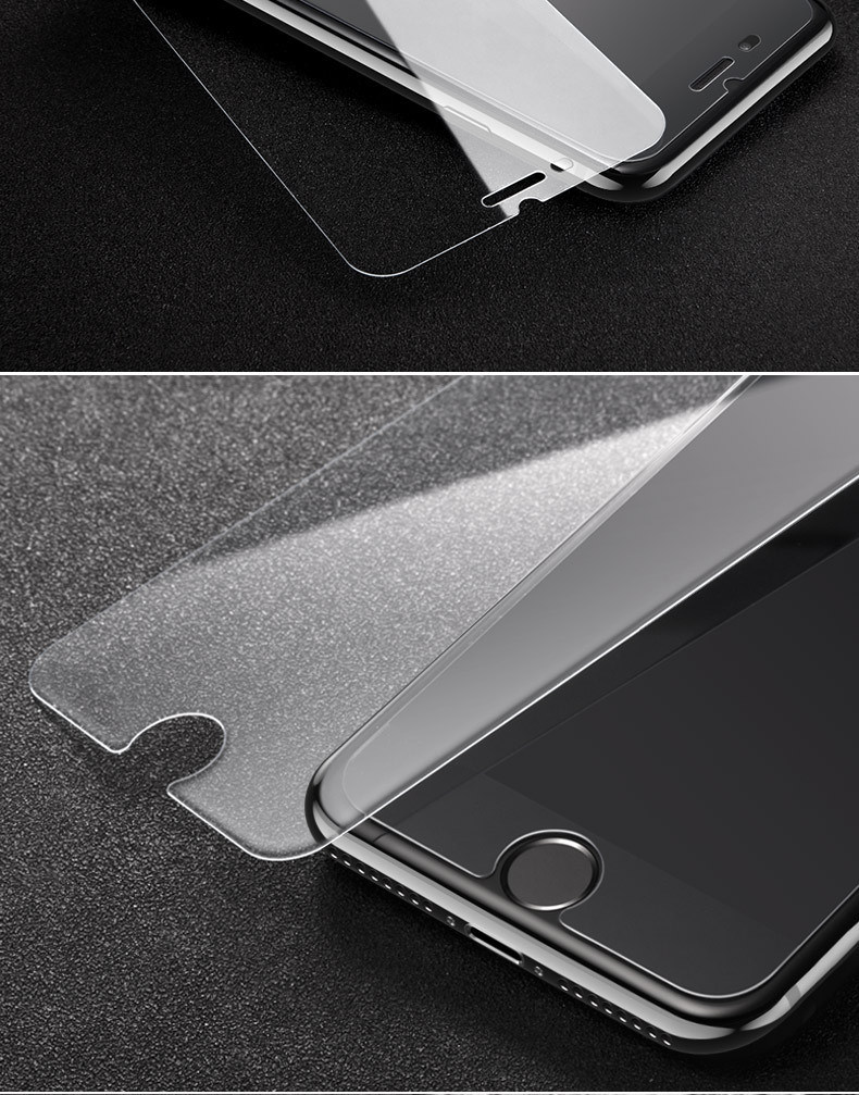 Wholesale Phone Tempered Glass Screen Protector for iPhone 7 7plus