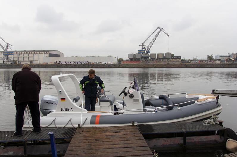 Liya Outboard Motor China 6.2m Rigid Tender for Fishing (HYP620A)
