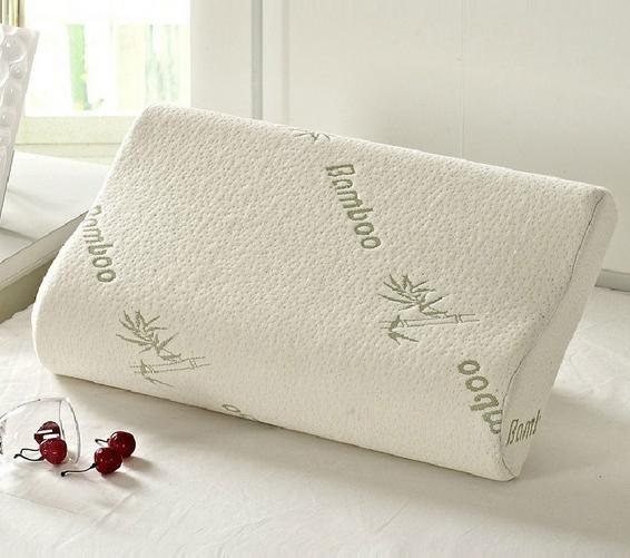 Bamboo Fiber Memory Foam Pillow for Hotel Home