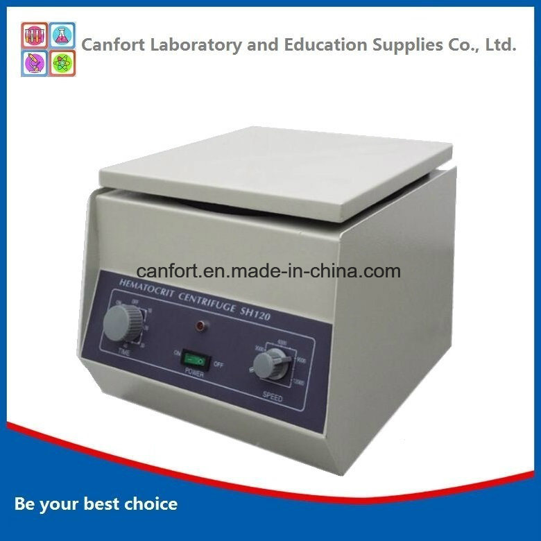 Blood Centrifuge Machine Sh120, 1.5mlx24 12000rpm Made in China with Good Prices