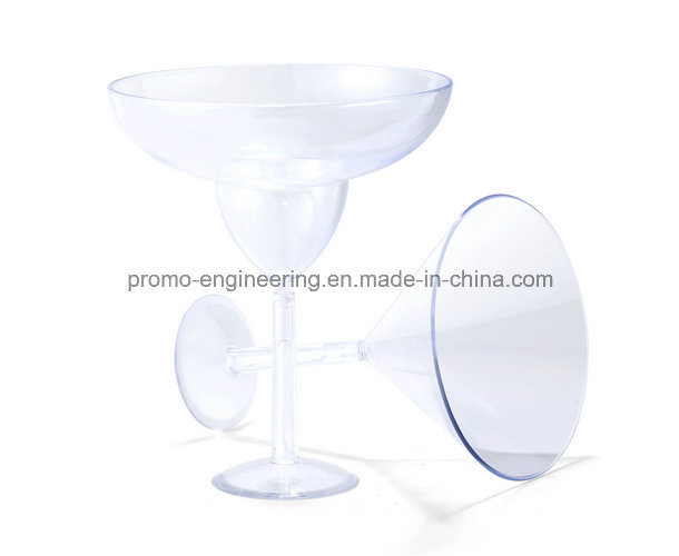 New Arrival Clear Plastic Margaret Glass Cup for Sale