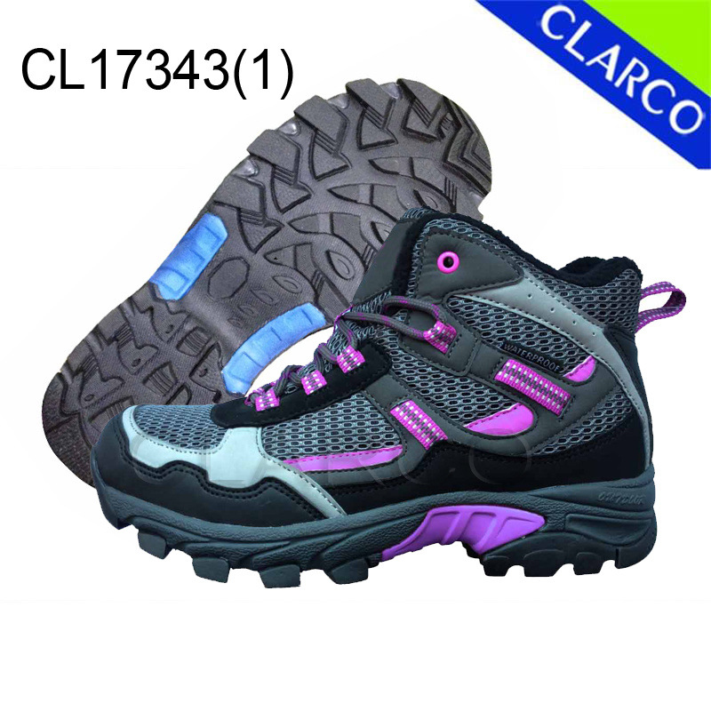 Women Sports Hiking Outdoor Shoes with Rubber Outsole