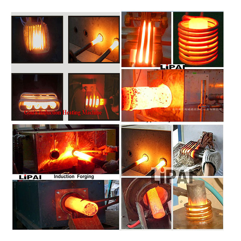 120kw Fast Heating Induction Heater for Metal Hardware Forging Hardingg