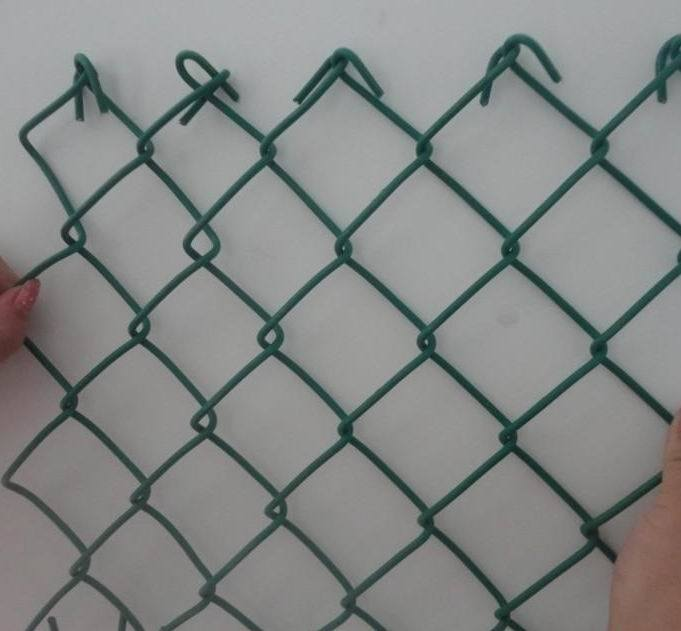PVC Coated Chain Link Fence /Chain Link Fence/ Wire Mesh