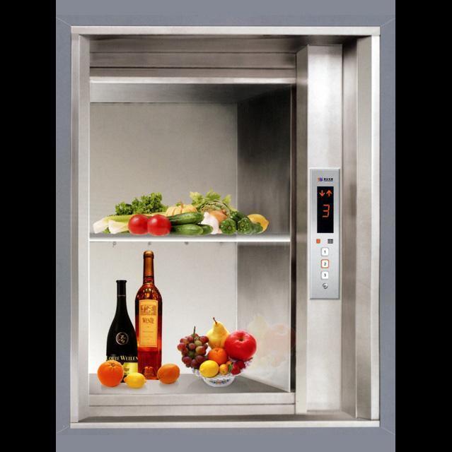 Kitchen Elevator Dumbwaiter with Speed 0.4m/S