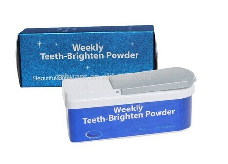 Private Label Mint Flavor Teeth Whitening Powder Tooth Brightening Powder